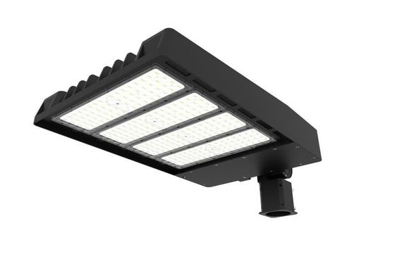 চীন 100W IP67 14000 Lumen Led Parking Lot Lights Aluminium Housing For Main Road Lighting পরিবেশক